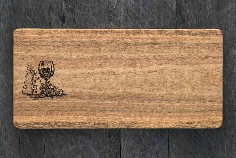Wine Cheese Board 400 X 190 X 20mm