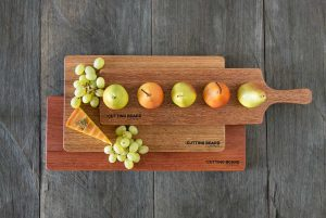 classic package cutting boards stacked