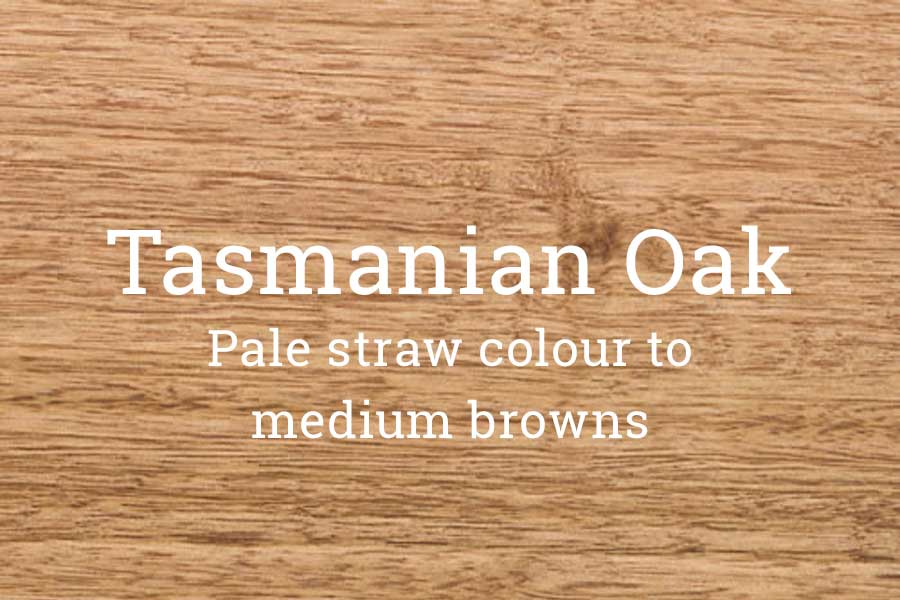 Tasmanian oak hardwood
